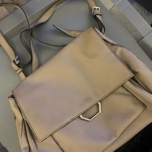 🔴Kenneth Cole Taupe Backpack